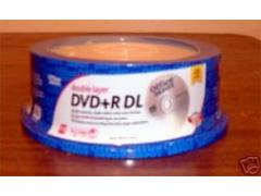 DVD+RDL Disks 25-pack